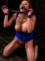 Voluptuous Mia Lelani is pushed to the limit. How much torment can she take?